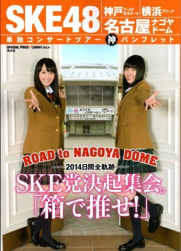 SKE党決起集会。「箱で推せ!」』 SKE48 神戸★横浜★名古屋 単独コンサートツアー神パンフレット