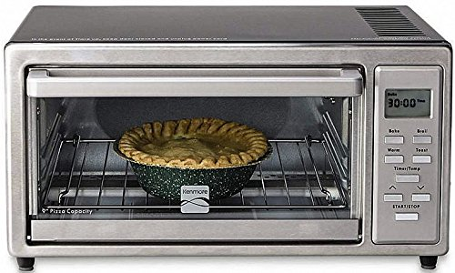 Kenmore 4 slice Digital Toaster Oven with 9