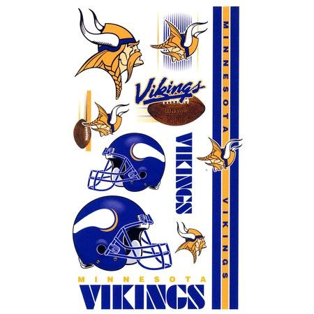 Minnesota Vikings NFL Football Team Temporary Tattoos. $  4.99 $  1.99