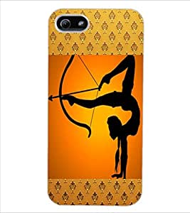 ColourCraft The Archer Design Back Case Cover for APPLE IPHONE 5