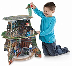 Fisher-Price Thomas Wooden Railway - Up and Around Sodor Adventure Tower