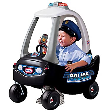 Small Tikes Patrol Police Car Ride On