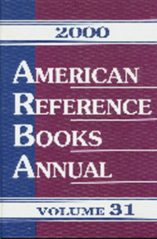 Image for American Reference Books Annual 2000
