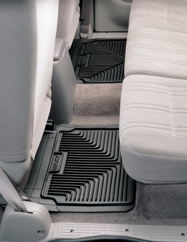 Husky Liners 52021 Black Heavy Duty Back Seat Floor Mat
