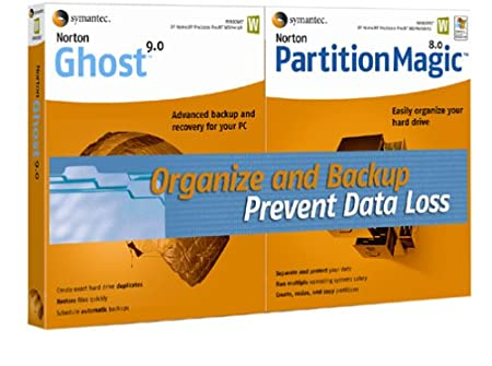 Norton Ghost 9.0 and Partition Magic 8.0 Bundle