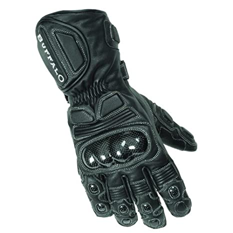 Buffalo Thermosport Gants de moto Noir/Noir XXL