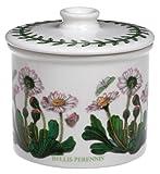 Portmeirion Botanic Garden Drum-Shaped Covered Sugar Bowl