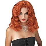 Glamour Girl Wig (Red;One Size)