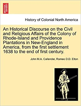 The first exploration and settlement on rhode island