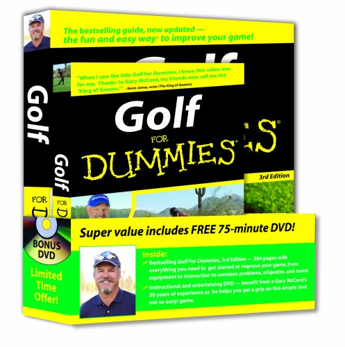 Golf For Dummies, DVD Bundle