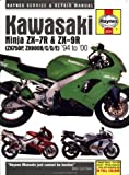 Kawasaki ZX750P (Ninja ZX-7R) and ZX900B/C/D/E (Ninja ZX-9R) (1994-2000) Service and Repair Manual (Haynes Service and Repair Manuals) Mark Coombs
