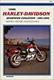 img - for Clymer Harley Davidson Sportster Evolution 1991-1994 / M429 book / textbook / text book