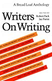 Writers on Writing (0874515602) by Pack, Robert