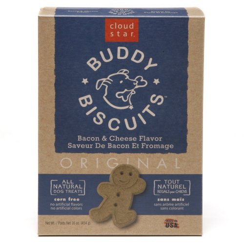 Cloud Star Buddy Biscuits Dog Treats, Bacon and