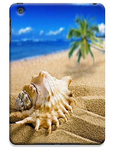 Fantastic Faye Cell Phone Cases For Ipad Mini No.6 The Fashion Design With Warm Sunshine Beach Blue Sky Clean Water Sea Star Beautiful Shell Slipper