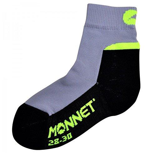 Monnet-Monnet Middle Junior, colore: grigio, 1 paio di calzini GRIS VERT 28/30