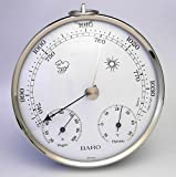 Thermco Analog Dial Barometer W/Temperature And Humidity