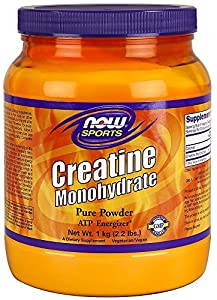 NOW Foods Creatine Powder, 2.2 Pounds , Pack of 3