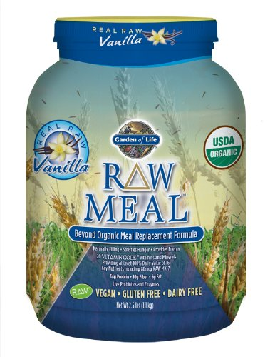 Garden of Life Raw Organic Meal, Vanilla, 1115