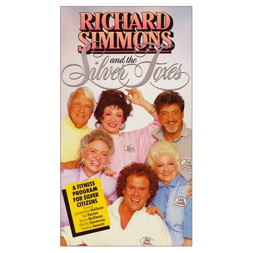 .com: Richard Simmons and the Silver Foxes [VHS]: Richard Simmons