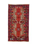 L'Eden del Tappeto Alfombra Beluchistan Rojo / Azul Oscuro 154  x  90 cm