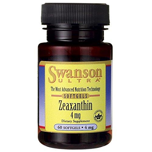 Swanson Zeaxanthin 4 mg 60 Sgels