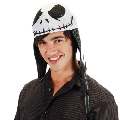 elope Jack Skellington Aviator, Black/White, One Size - 1