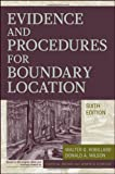 img - for Evidence and Procedures for Boundary Location book / textbook / text book