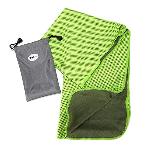 FoVo Cooling Towel Green Waterproof Packaging 100% Money Back Guarantee (2004 Gmc Sierra 2500hd Radiator compare prices)