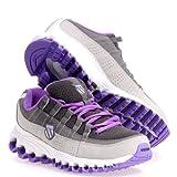 K-Swiss Women's Tubes Run 100 Backatcha Running Shoe Chrcl Fade.New Viole 7 B(M) US