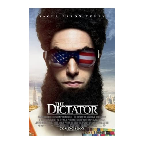 Amazon.com : THE DICTATOR movie poster flyer 11 x 17 inches Sacha