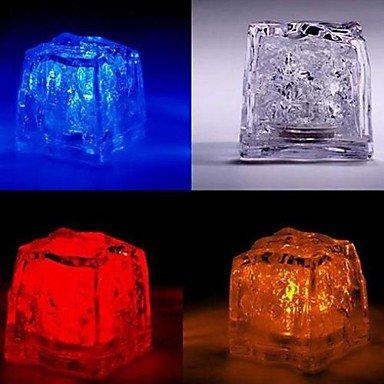 Jje Led Color Change Ice-Cube Shaped Light Halloween Props