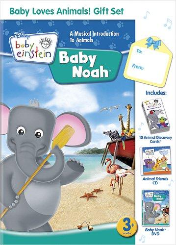Baby Einstein: Baby Loves Animals Gift Set W/Cd front-882675