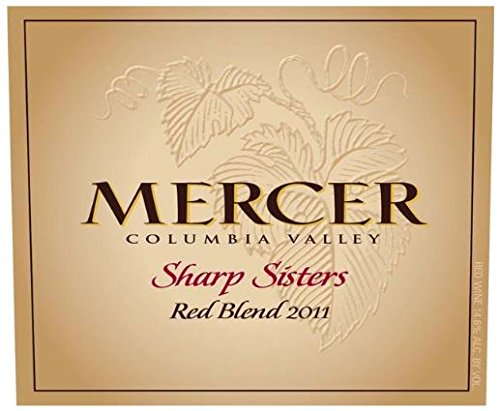 "2011 Mercer Estates ""Sharp Sisters"" Columbia Valley Red Blend 750 Ml"