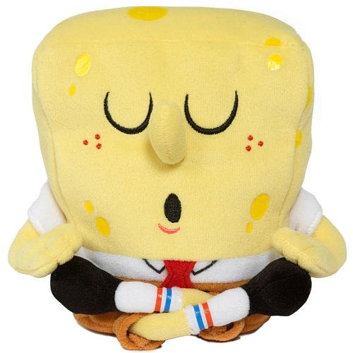 Buy Low Price Jakks Pacific SpongeBob Squarepants 6 Inch Plush Figure YogaBob (B002OD1BN6)