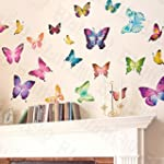 Butterfly World - Wall Decals Sticker...