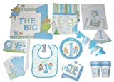 The Gift Wrap Company Baby Boy's Big One, 1st Birthday Giant Party Décor Set
