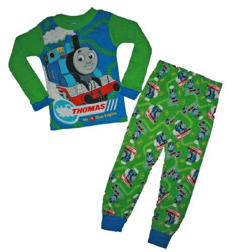 Thomas the Train 2 Pc Cotton Pajama Set for Toddler Boys (12 Months)