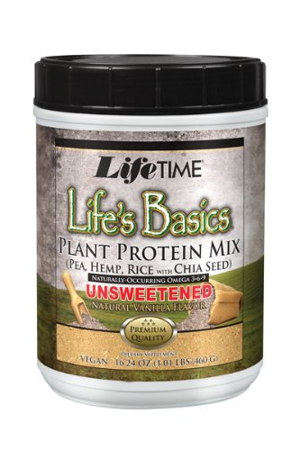 Lifetime Life's Basics Plant Protein Unsweetened,