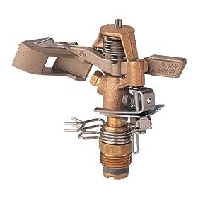 Rain Bird 20 to 41-Foot Coverage Radius Brass Impact Rotor Sprinkler Head 25PJDAC