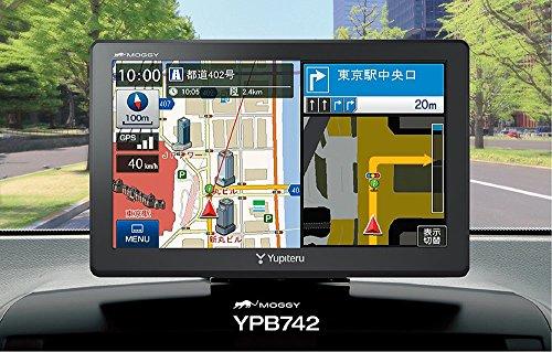 ユピテル 7.0型ワンセグ内蔵2016年度春版地図データ収録ポータブルナビゲーション YPB742