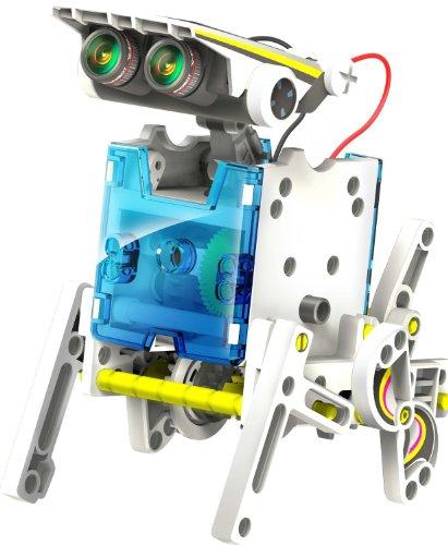 14 in 1 Solar Robot Kit Roboter Schiff Auto Boxer