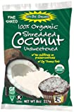 Lets Do Organic Shredded, Unsweetened Coconut, 8-Ounce Packages (Pack of 12)