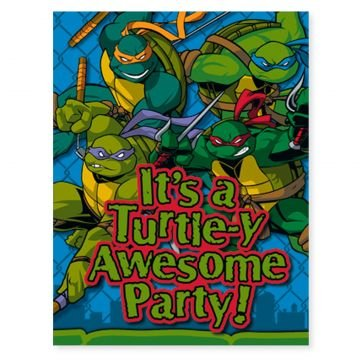 Why Should You Buy TMNT Teenage Mutant Ninja Turtles Party Invitations (8)