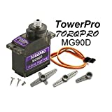 Servo Digital Towerpro MG90D 13gr (360º)