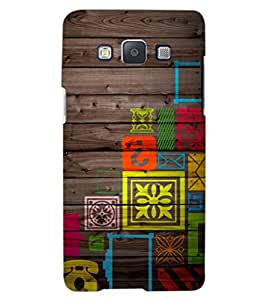 ColourCraft Abstract image Design Back Case Cover for SAMSUNG GALAXY A8