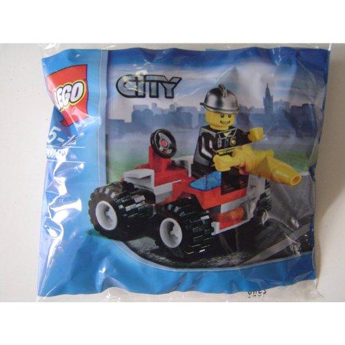 LEGO City 30010 Feuerwehrmann mit Feuerwehrauto
