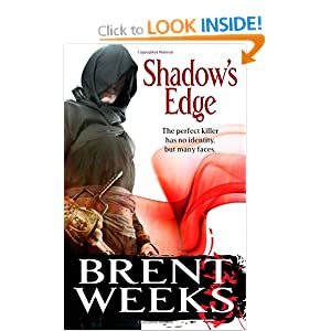 Shadow's Edge: The Night Angel Trilogy: Book 2 Brent Weeks