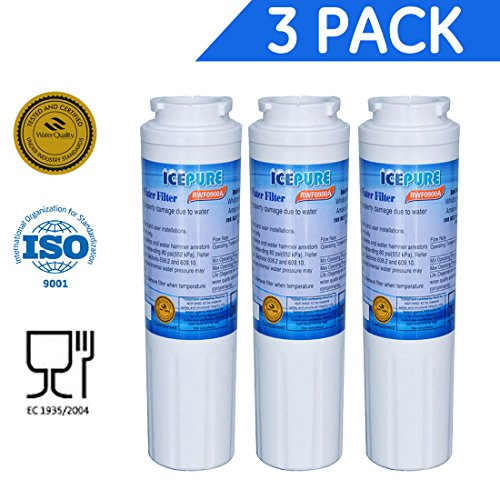 3 Pack - IcePure Water Filter to Replace Maytag, Amana, Kenmore, Jenn-Air, Whirlpool, Kitchenaid (Jenn Air Water Filter compare prices)