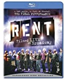 Rent: Filmed Live on Broadway (Ws Sub Ac3 Dol) [Blu-ray] [Import]